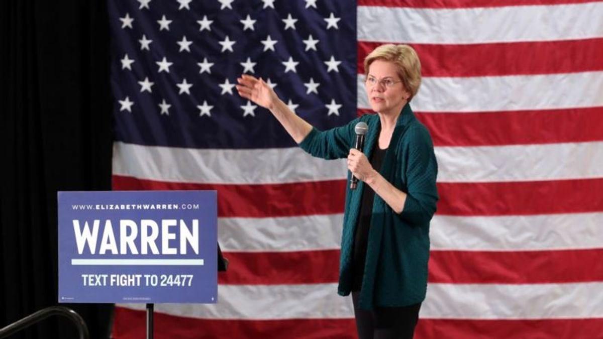 Warren Releases 2018 Tax Return, Reveals $900,000 in Income