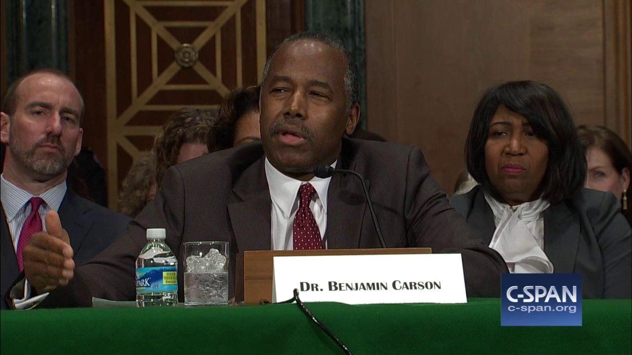 HUD Secretary Nominee Dr. Ben Carson Opening Statement (C-SPAN)