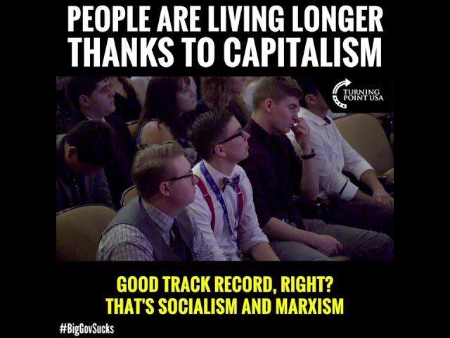 Capitalism SAVES LIVES!