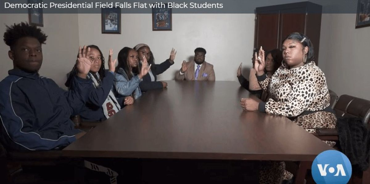 Democratic Presidential Field Falls Flat with Black Students