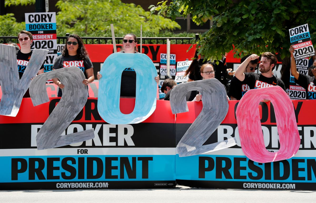 Campaign for Democratic Presidential Nomination in Full Swing