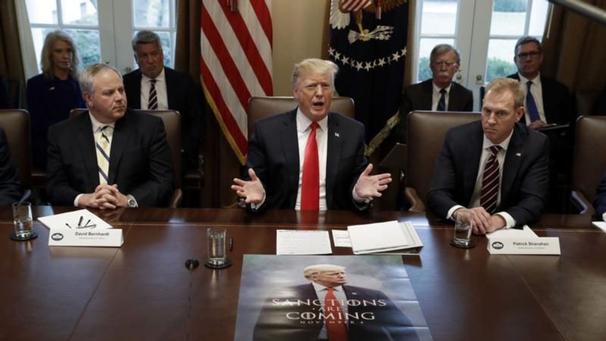 Trump Calls for More Talks to Resolve Government Shutdown