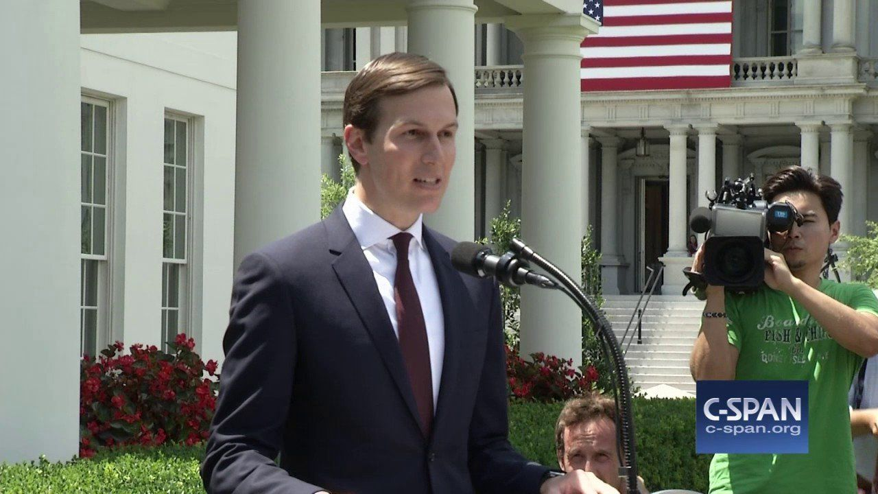 """Jared Kushner: """"I did not collude with Russia…"""" (C-SPAN)"""