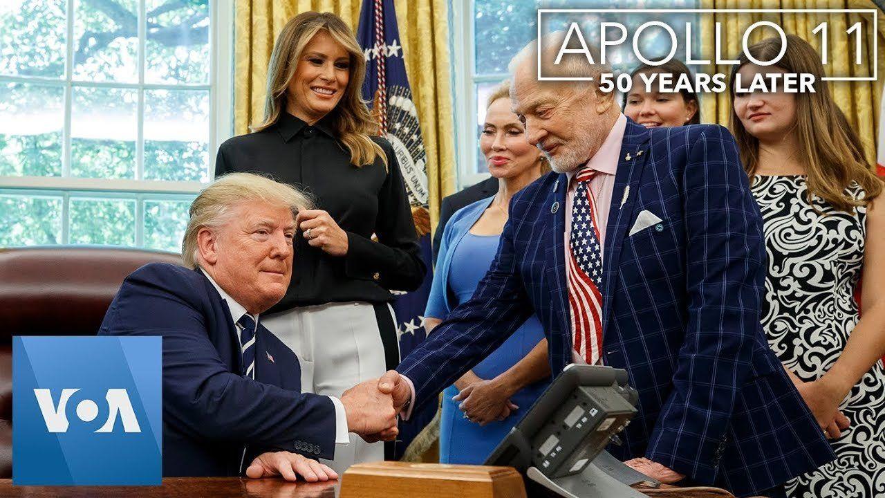 President Trump Marks Apollo 11 Anniversary with Astronauts