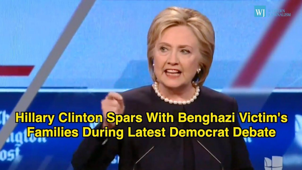 Hillary Clinton Spars With Benghazi Victim's Families During Latest Democrat Debate