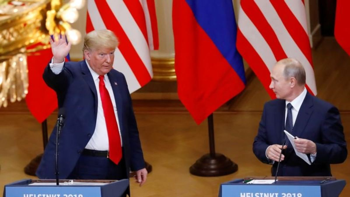 Remarks by President Trump and President Putin in Helsinki
