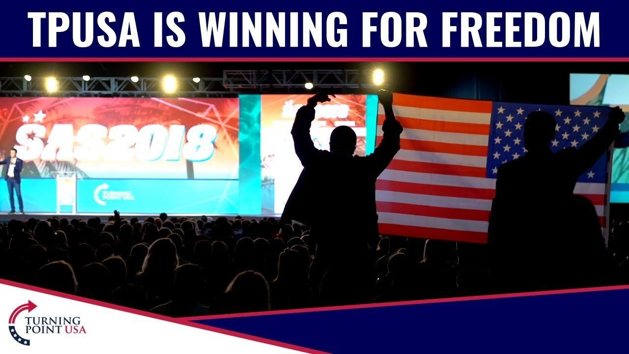 TPUSA Is Winning For Freedom!