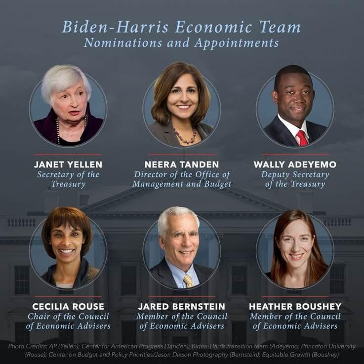 Biden-Harris Economic Team