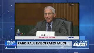 Rand Paul eviscerates Dr. Fauci claiming that he lied about Gain-of-Function research and testing