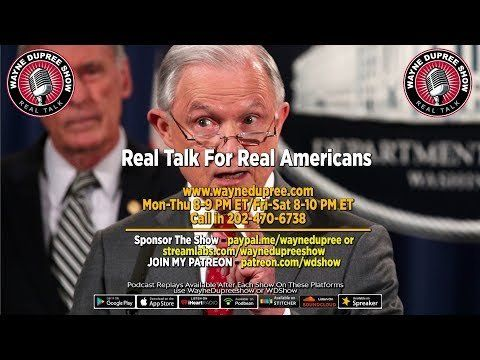 🔥 LIVE! WDShow 11-13 Jeff Sessions Says Investigate Uranium One! 202 470 6738