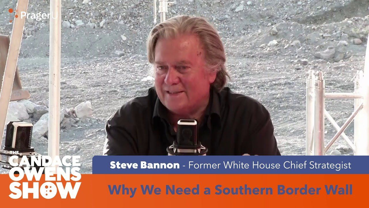 Trailer: The Candace Owens Show Featuring Steve Bannon