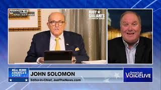 John Solomon weighs in with Tudor Dixon and Steve Gruber on why Giuliani's apartment now?
