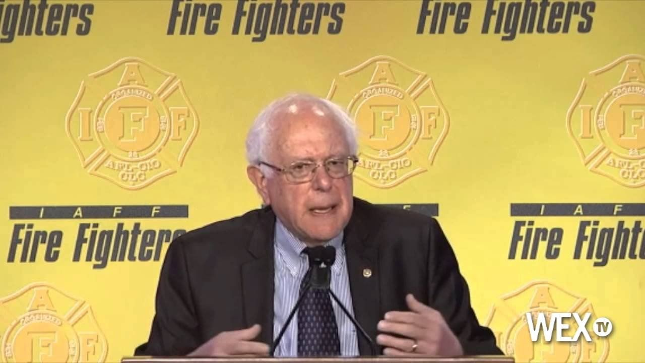 Sen. Bernie Sanders fights for middle class at presidential forum