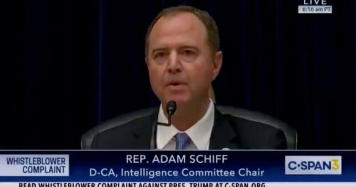Adam Schiff Will Be Immortalized But Not Like He Wanted