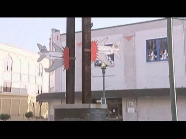 9-11 monument vandalized in Louisiana