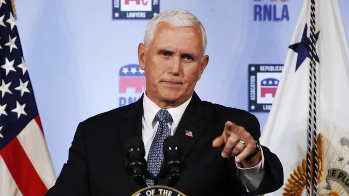 Pence: Anonymous Critic Resisting Trump Should Quit
