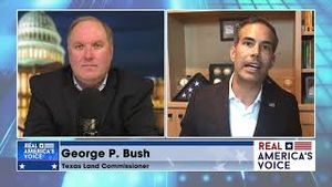 """""""Trump is the future of the Party"""" George P Bush talks about the future of the GOP with John Solomon"""