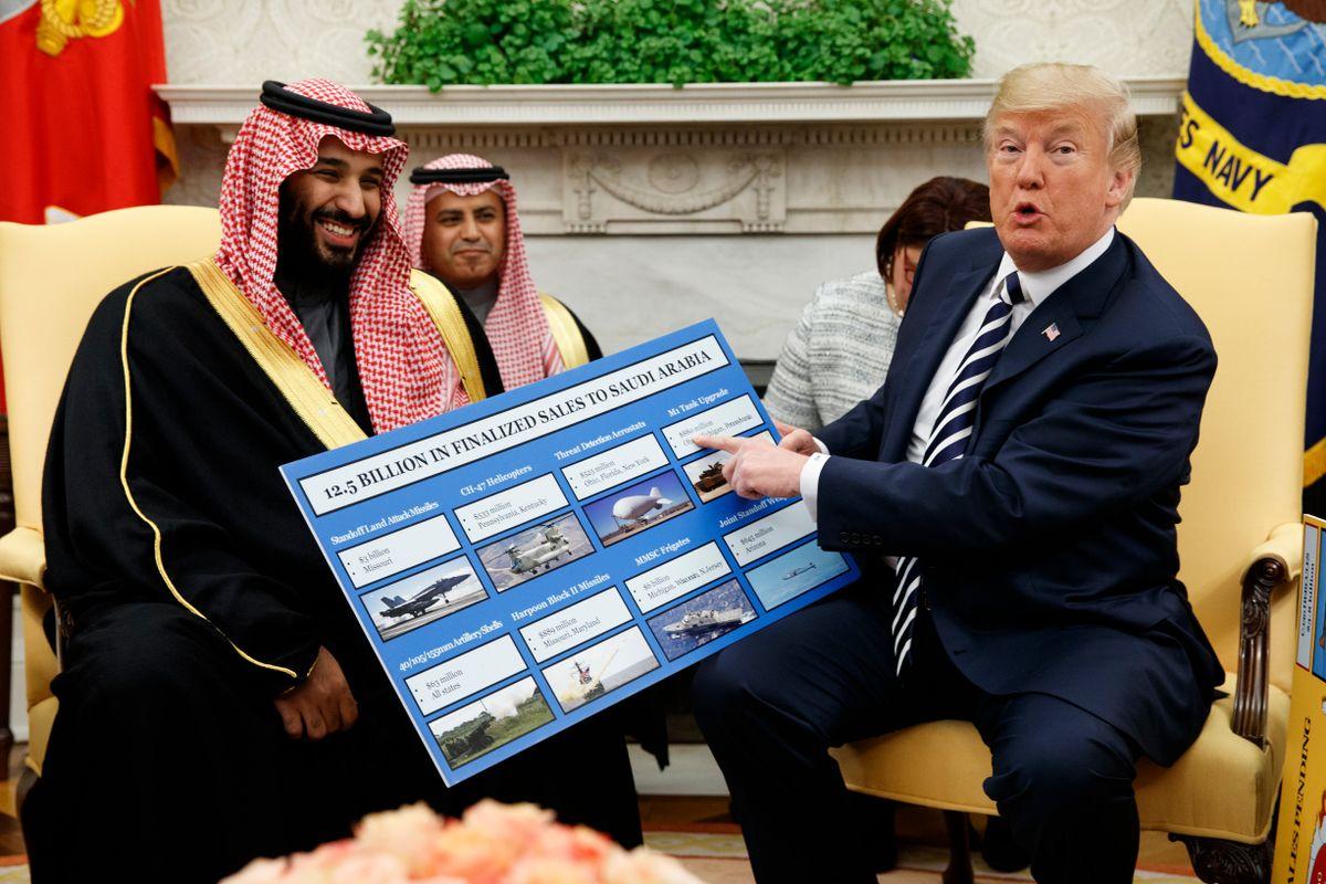 Congress Pushes Oversight of Saudi Arms Transfers