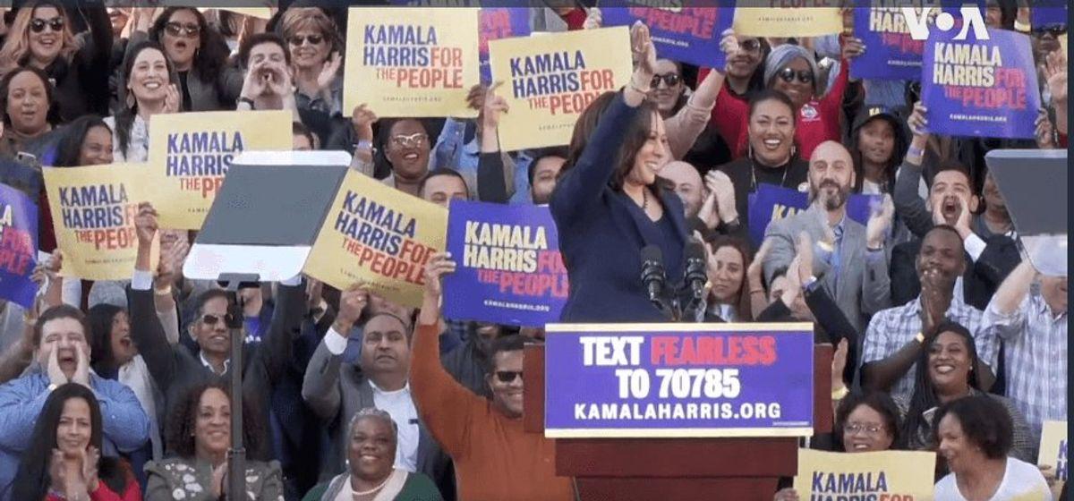 Democratic Presidential Field Shrinks with Departure of Harris, Bullock