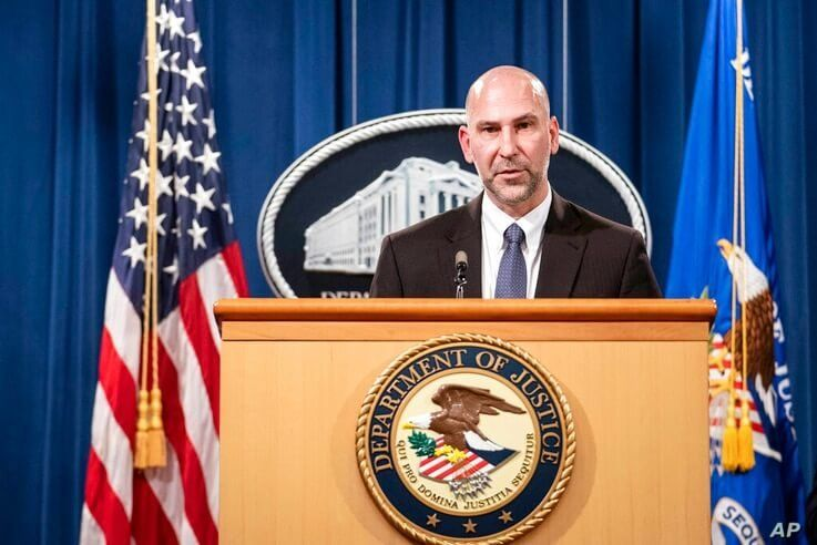 Steven D'Antuono, head of the Federal Bureau of Investigation (FBI) Washington field office, speaks during a news conference…