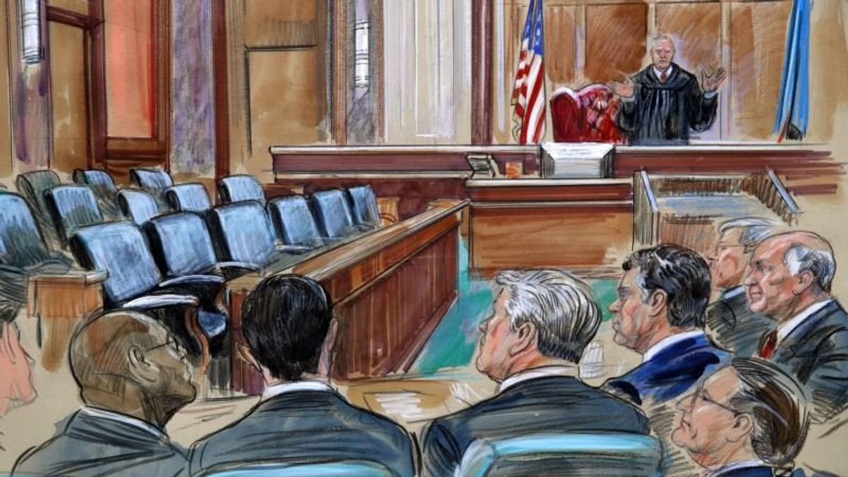 Jurors Deliberate Multiple Charges as Manafort Trial Draws to Close