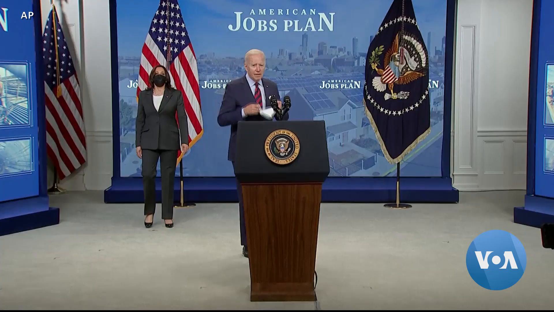 Lawmakers Take Up Biden's $2 Trillion Infrastructure Plan