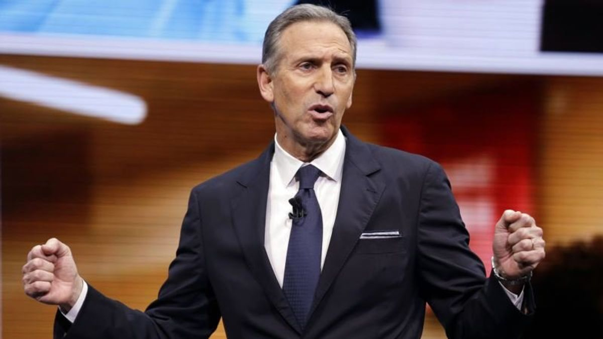 How Starbucks Magnate Howard Schultz Could Upend 2020 Election