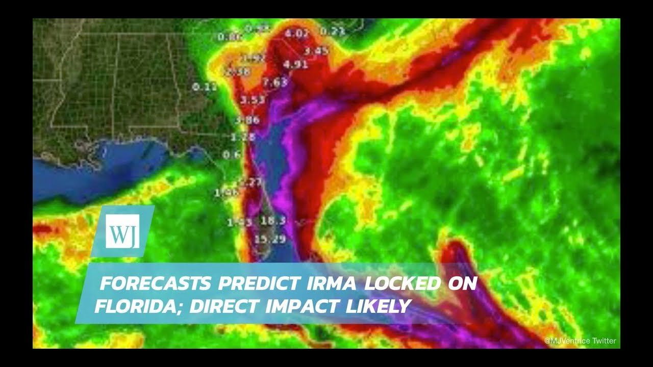 Forecasts Predict Irma Locked On Florida; Direct Impact Likely