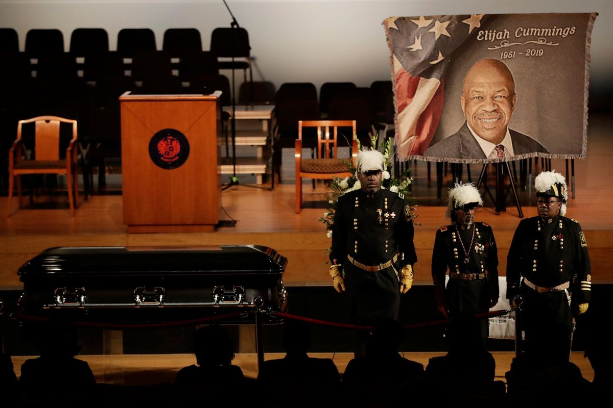 Mourners, Constituents Pay Tribute to US Rep. Cummings