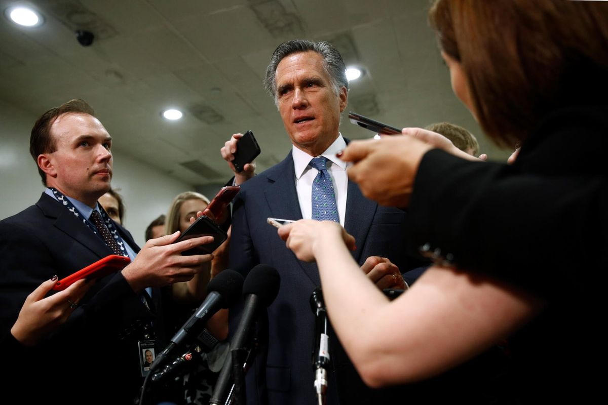 Trump Scolds Romney Over Criticism About Trump's China Words