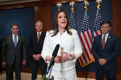 House Republicans Elect Pro-Trump Stefanik to Leadership Role
