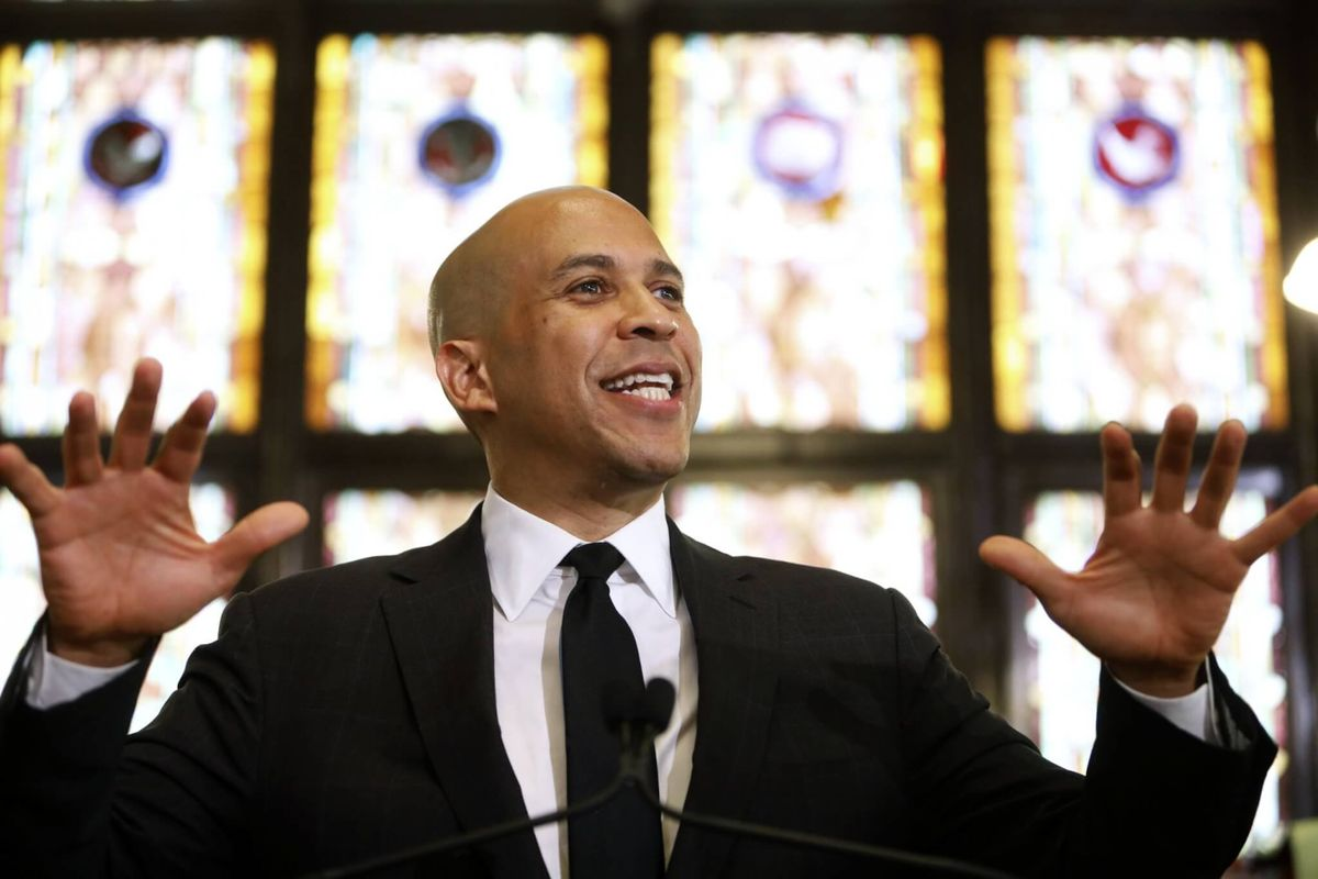 New Jersey Sen. Booker Endorses Biden
