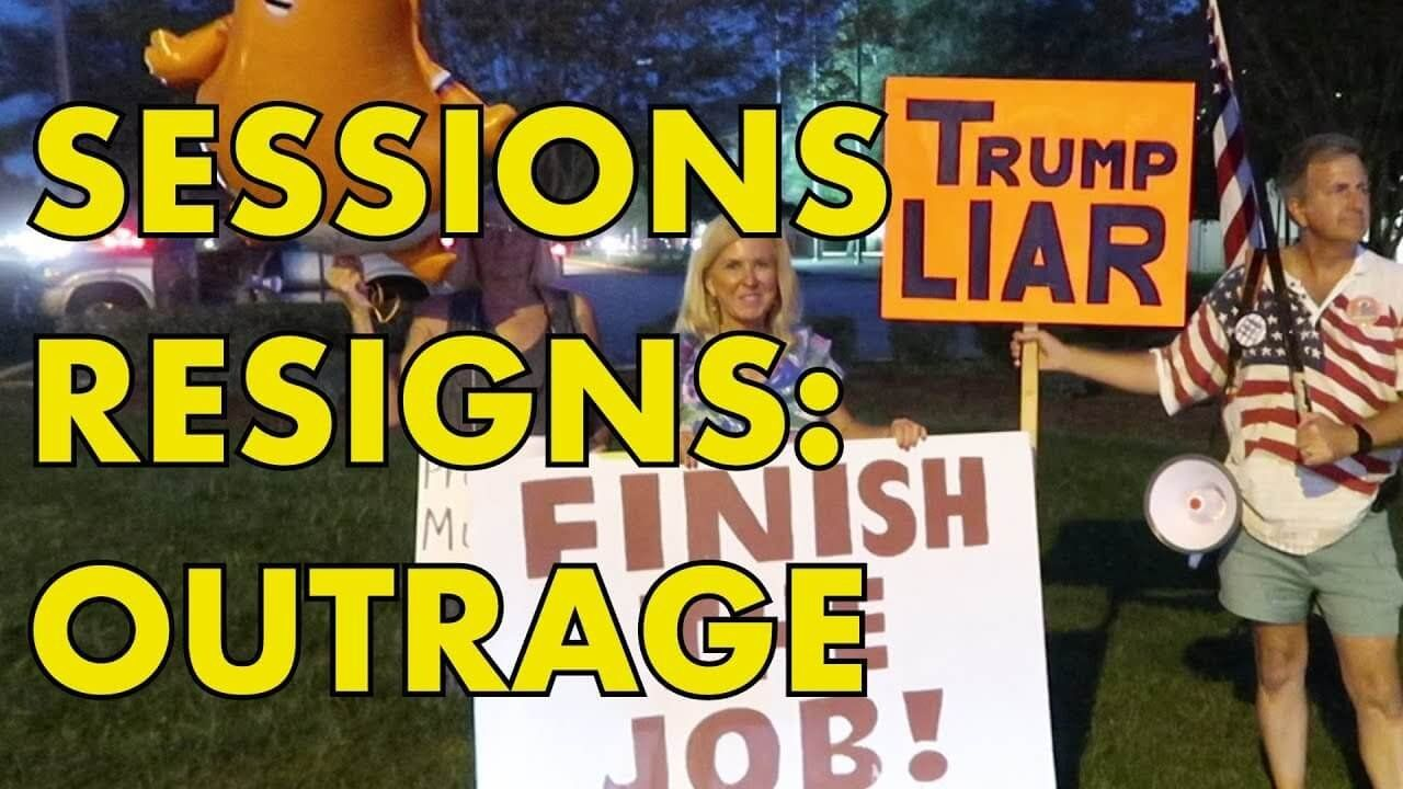 JEFF SESSIONS RESIGNS: Instant Liberal Outrage