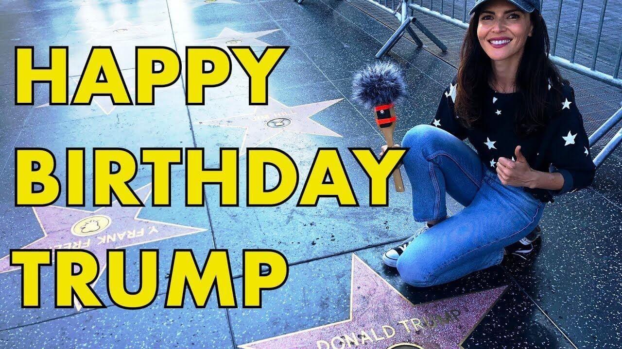 Happy Birthday President Donald Trump!