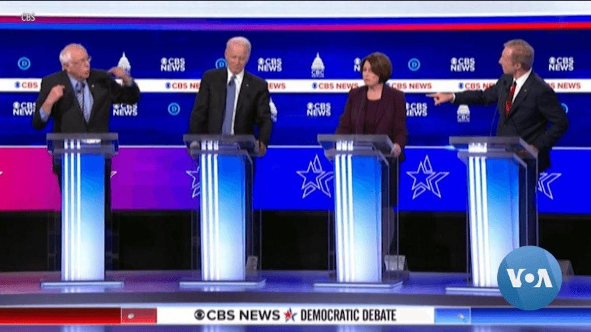 Deep Divide Between Progressives, Moderates in Democratic Primary