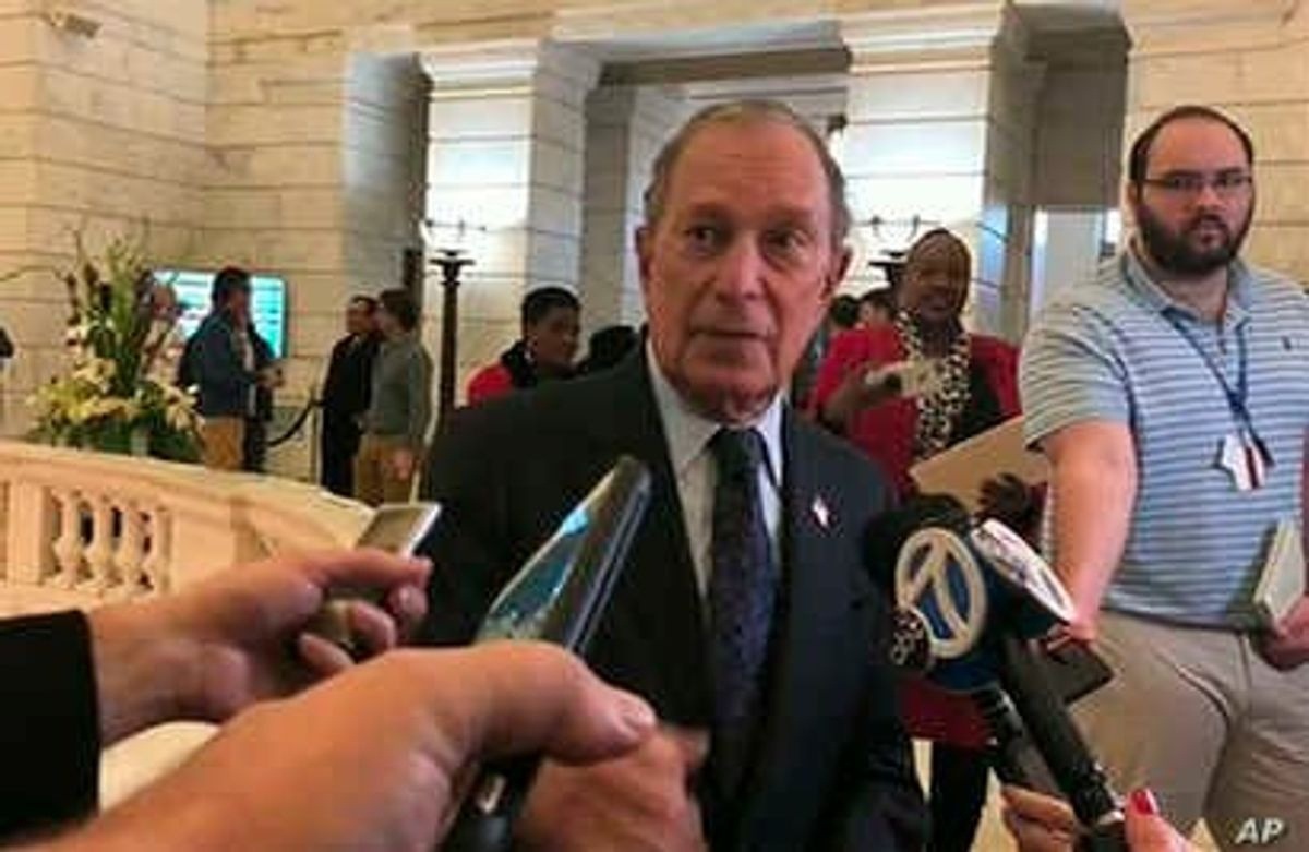 Bloomberg Registers for 2020 US Presidential Ballot in Arkansas