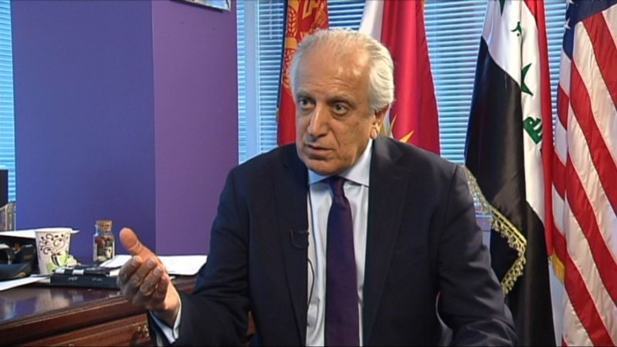 US Appoints Veteran Envoy for Afghan Peace Effort