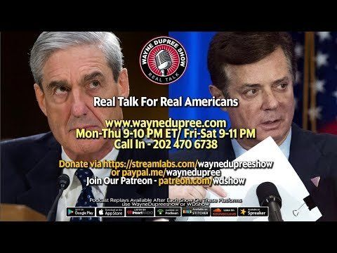 🔥 LIVE! WDShow 9-21 They Picked Manafort Home Lock, Why Not Samantha Power? 202 470 6738