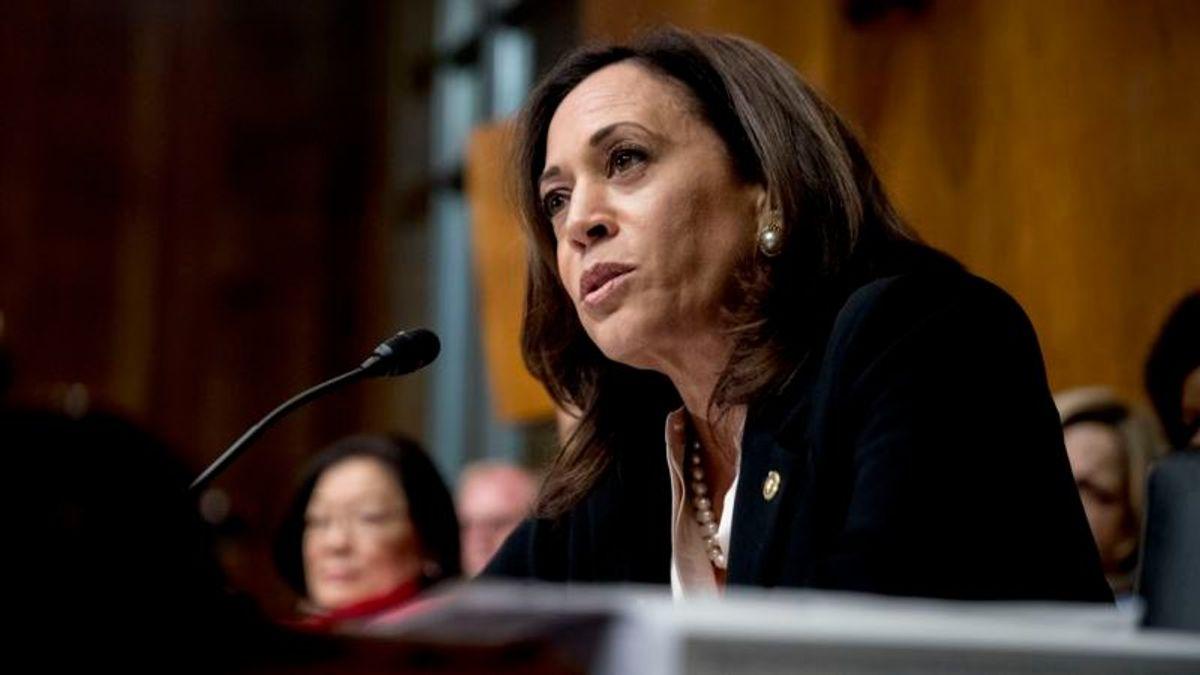 Kamala Harris: AG Barr Representing President, Not US