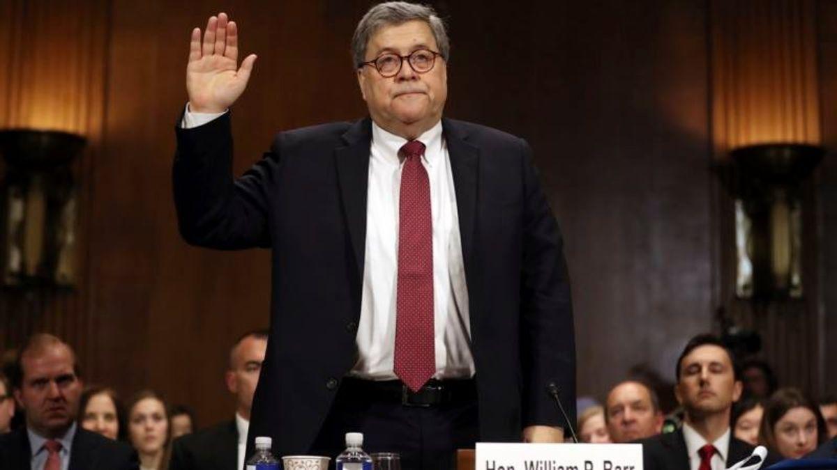 AG Barr Defends Handling of Mueller Report