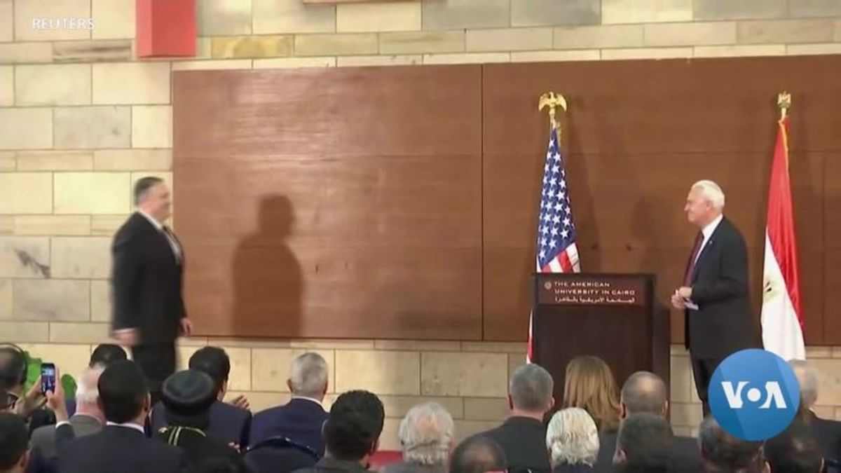 Pompeo Repudiates Obama's Middle East Vision