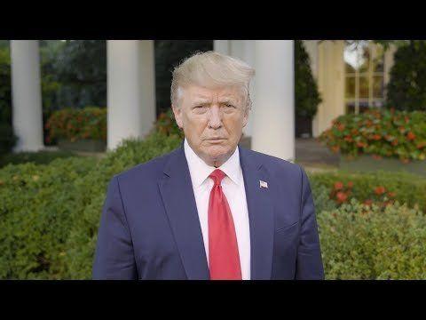 President Trump delivers message on Hurricane Dorian