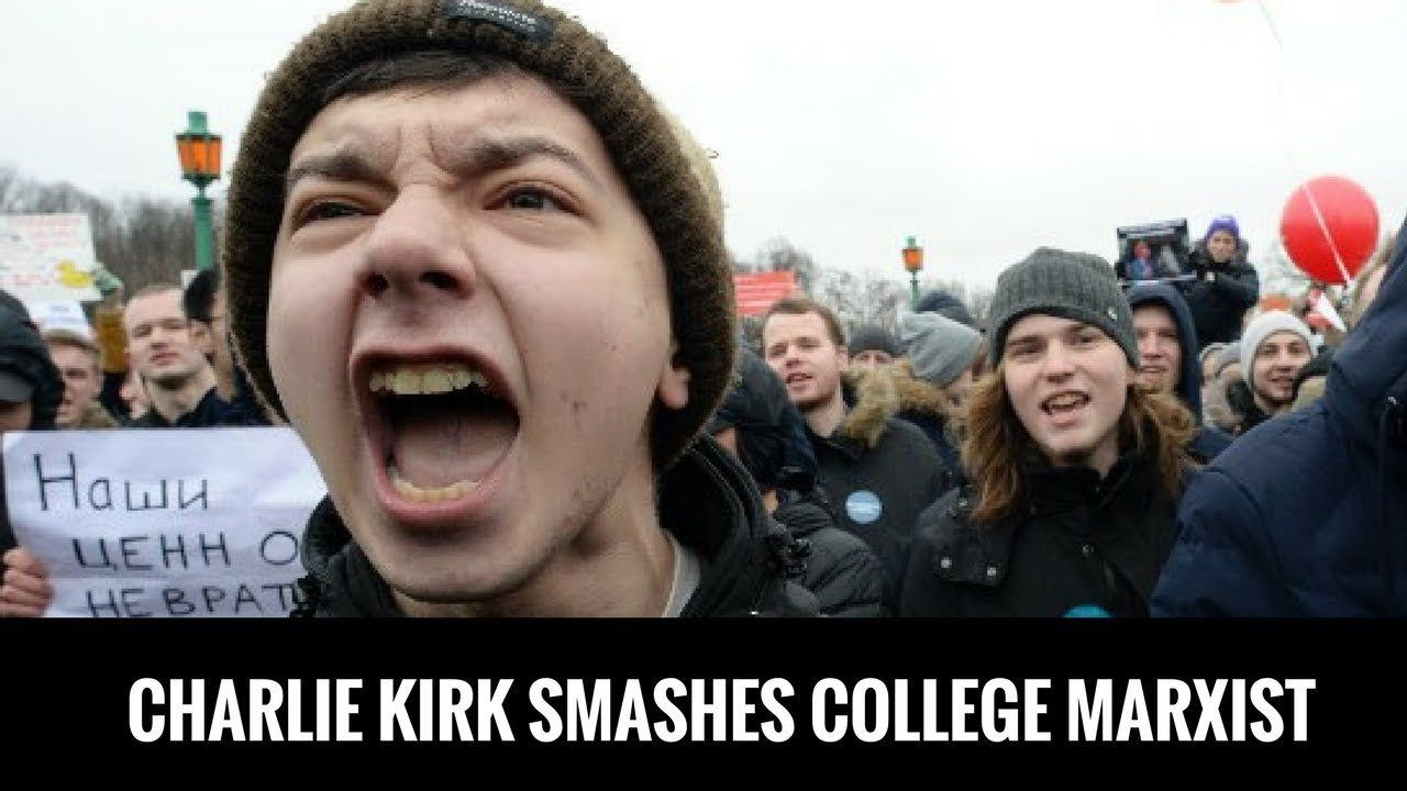 Charlie Kirk Smashes College Marxist