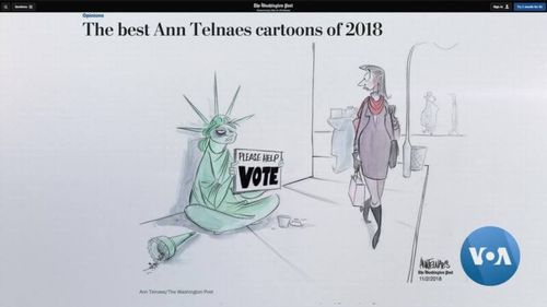 Ann Telnaes: The Editorial Cartoonist Who Draws Reactions