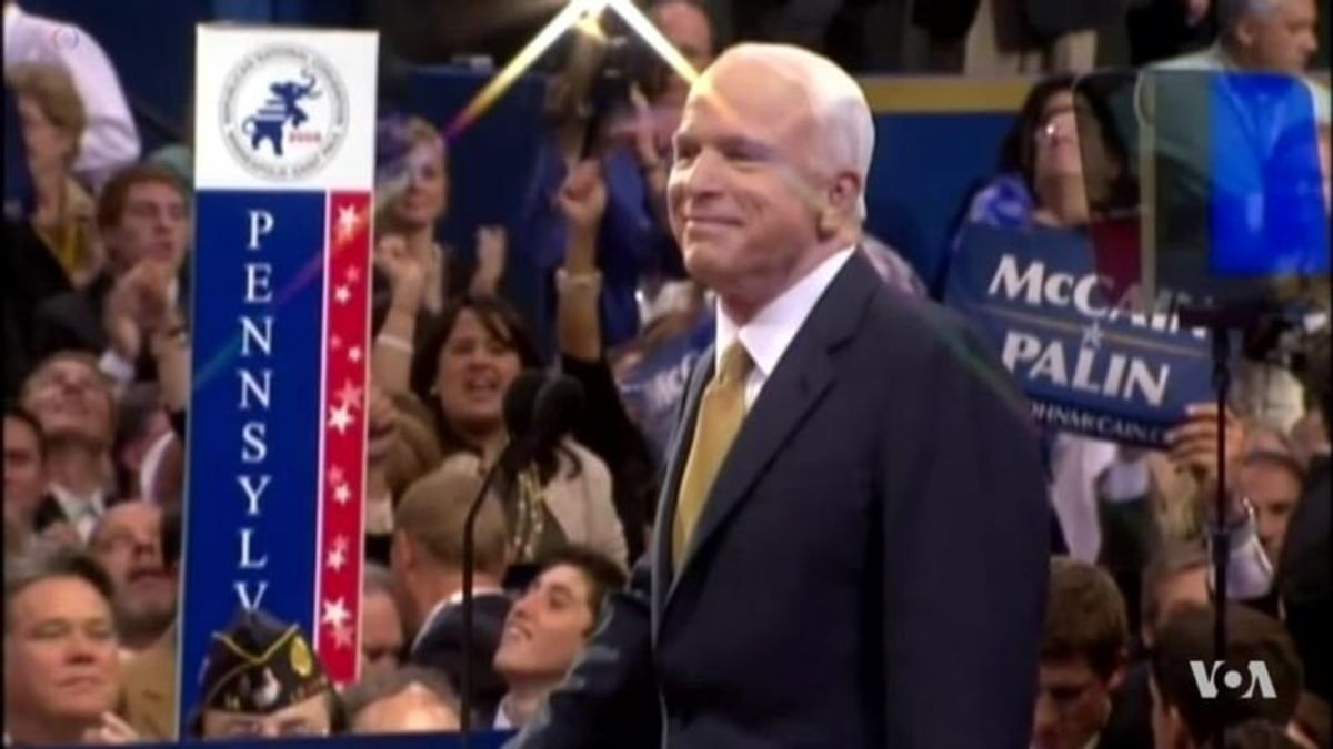 Thousands Pay Respects to Senator John McCain at the US Capitol