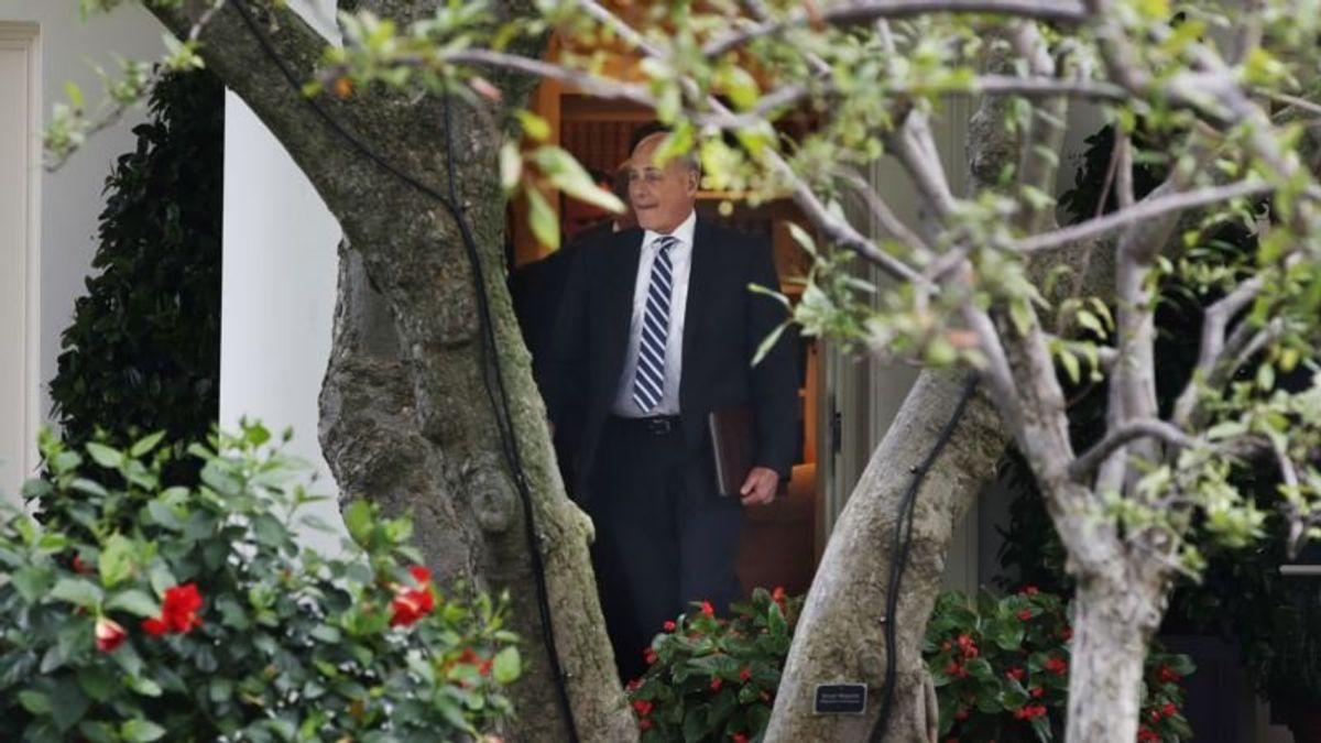 White House Chief of Staff Decides to Stick Around