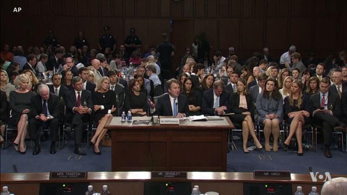 Kavanaugh Nomination Puts US Senate to the Test