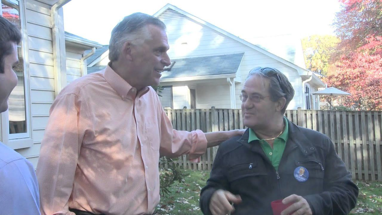 Terry McAuliffe keeps up the pressure in Virginia gov's race