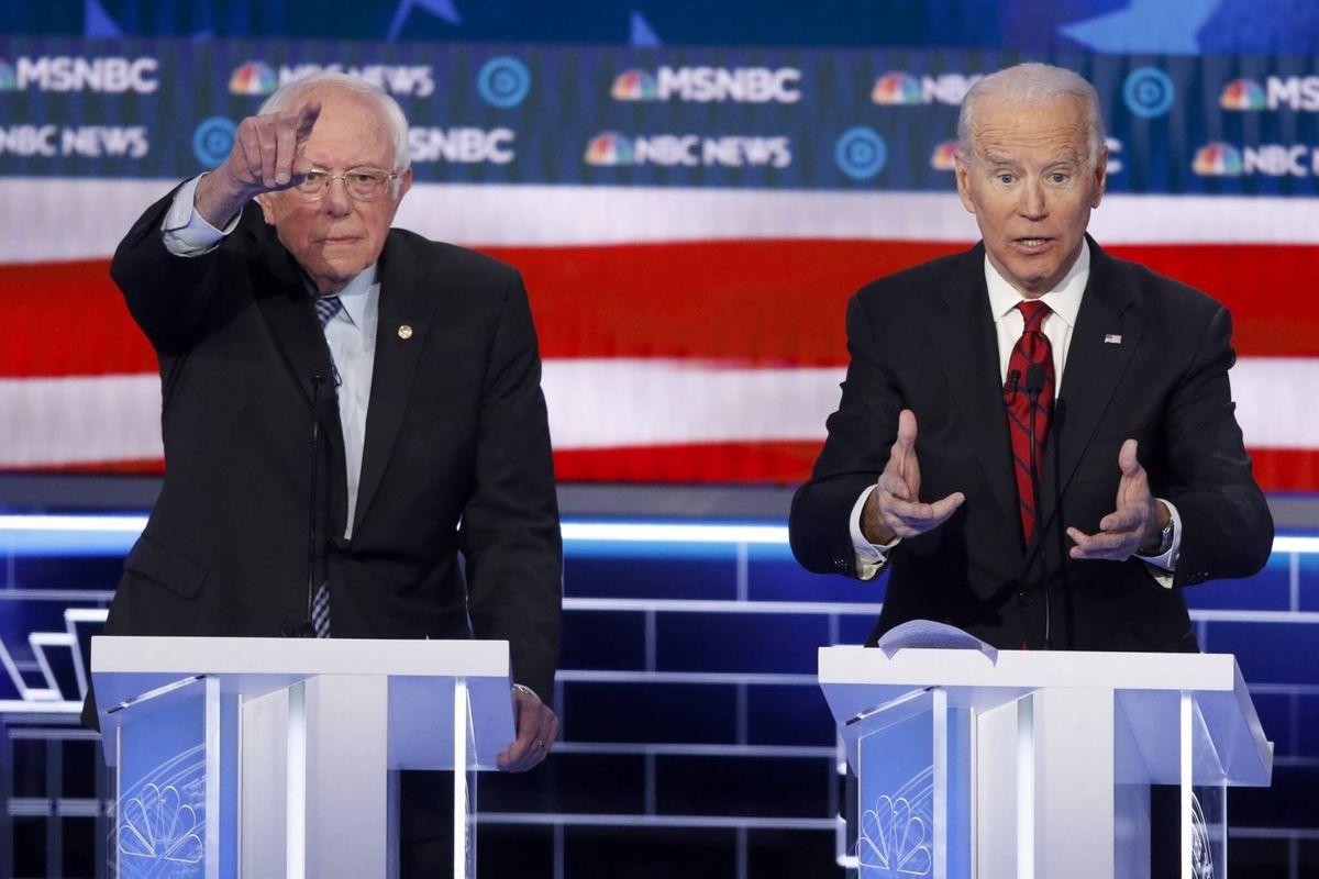 Biden, Sanders Squaring Off in Next Democratic Presidential Voting