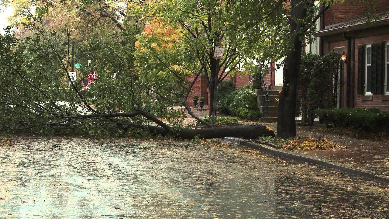 Hurricane Sandy Hits Region
